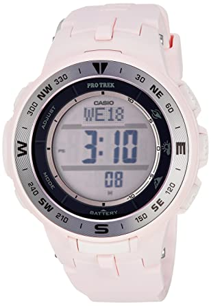 Amazon.com  Casio Women s Pro Trek Quartz Watch with Resin Strap ... 6baea70d6