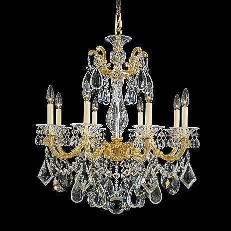 Schonbek 5073 22 swarovski lighting la scala chandelier heirloom schonbek 5073 22 swarovski lighting la scala chandelier heirloom gold aloadofball Images