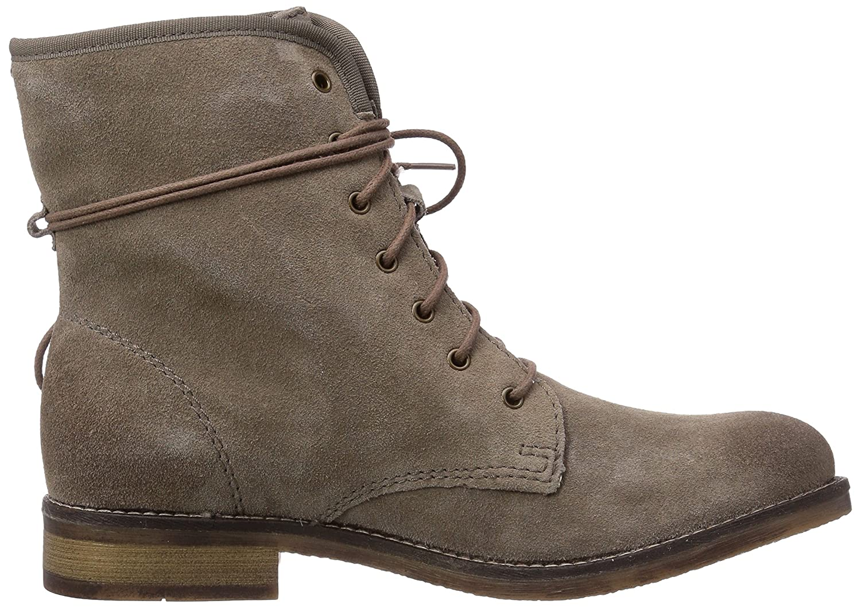 Bilder Günstig Online Verkauf Sast 25225 Damen Combat Boots Braun ...