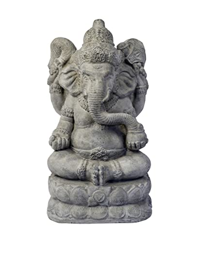 Repose ST10203756 Powerful Ganesha Outdoor Statues