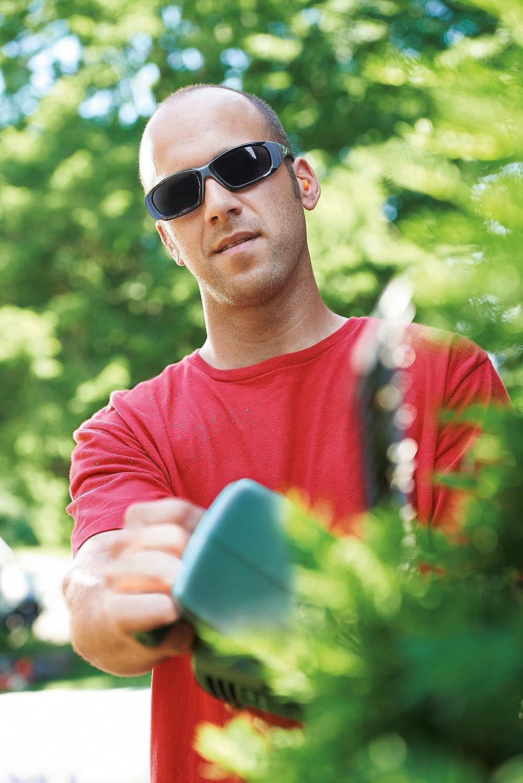 3M 92235-WZ4 ForceFlex Plus Safety Eyewear with Scratch Resistant Lens (4/Case), Frame: Black/Grey & Lens: Grey - - Amazon.com