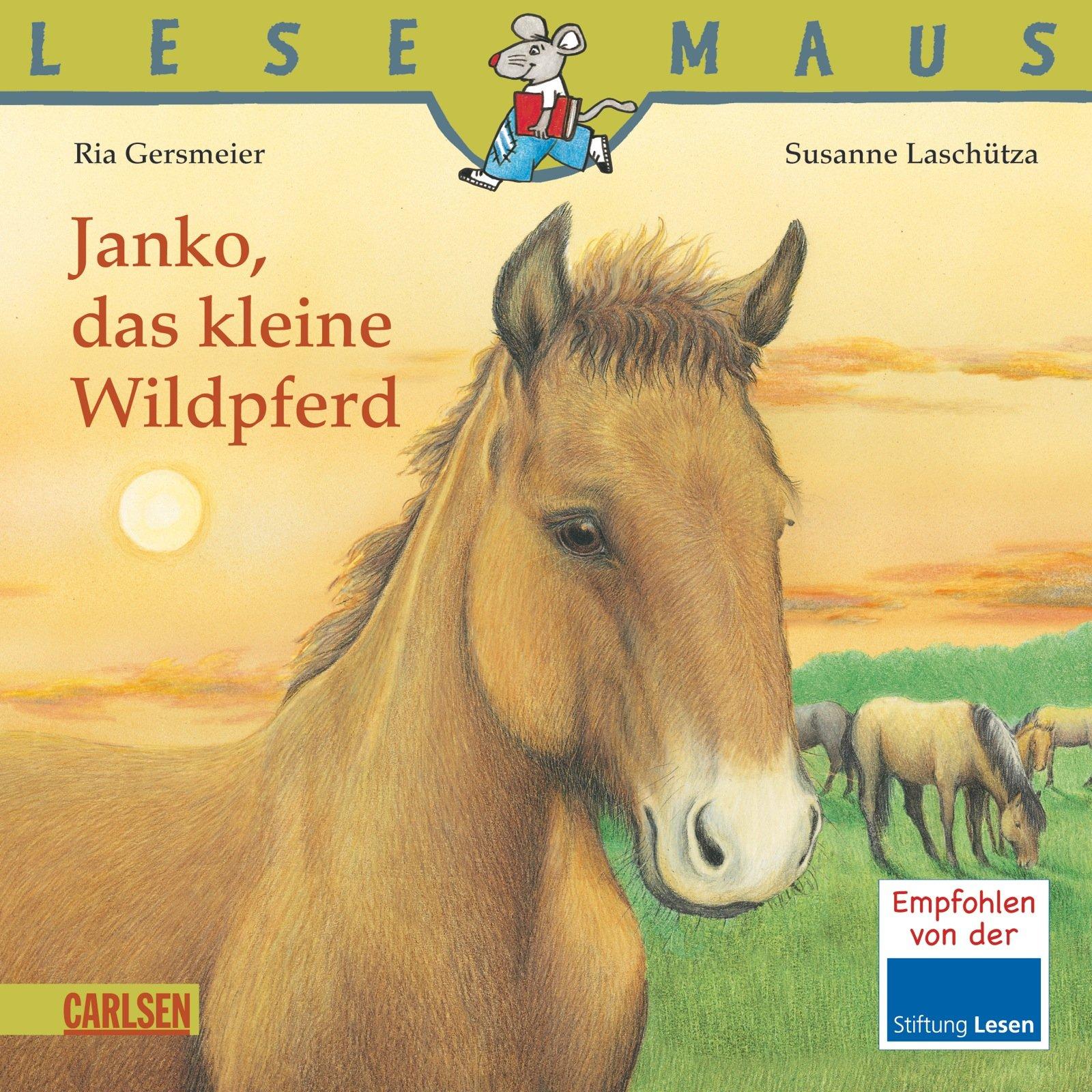 LESEMAUS, Band 9: Janko, das kleine Wildpferd