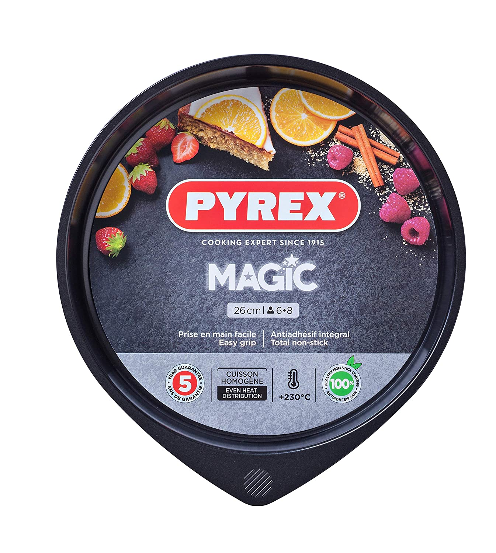 Pyrex Magic Tortiera Nero