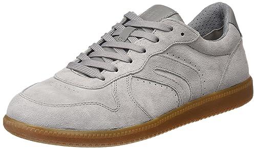 Geox U Keilan C, Zapatillas para Hombre, Gris (Stone), 40 EU