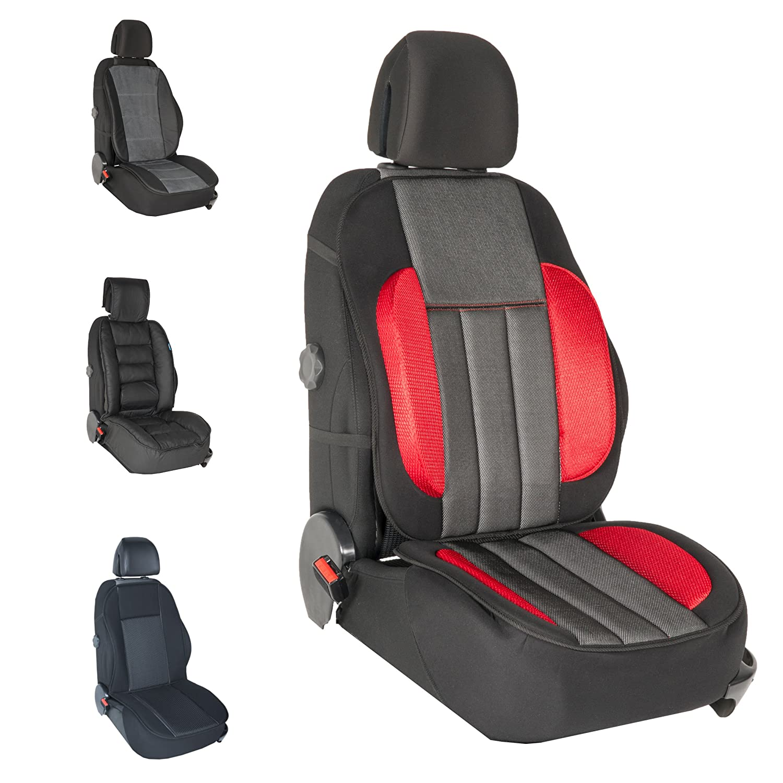 DBS - Couvre Siè ge - Voiture/Auto - Gris - Grand Confort - Antidé rapant - Compatible Airbag - Universel 012711