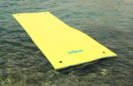 Colchón Flotador esquí rápido ocho Diez arbeitsplätze 550 cm x 180cm x 3,5cm para