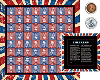 product image for Lincoln Coin Checkers Set