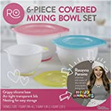 Rosanna Pansino Covered Mixing Bowl Set, 6-Piece by Wilton