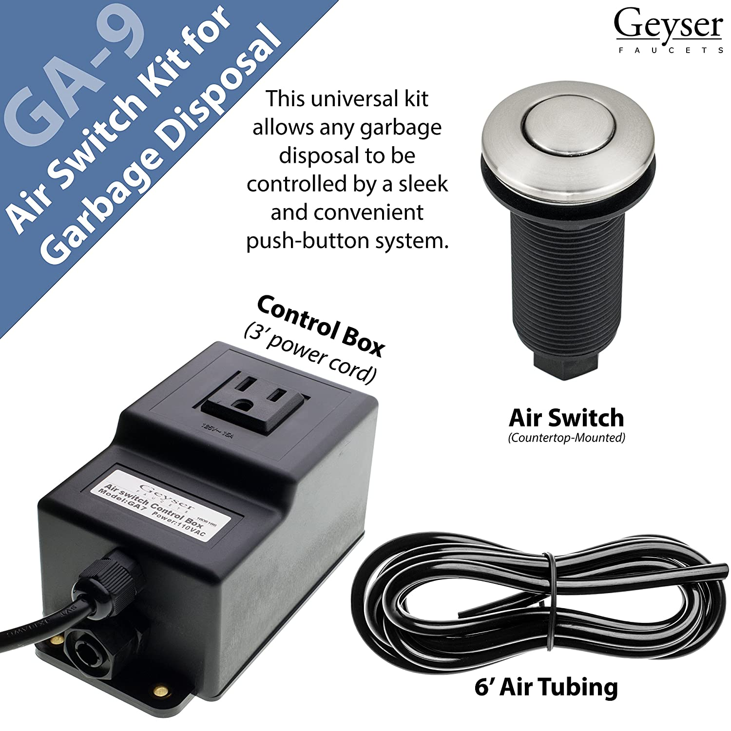 Geyser Ga7 Air Swicth Control Box Wiring A Switch To Garbage Disposal