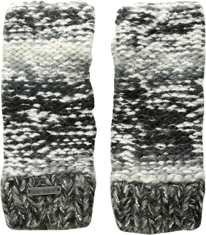 Screamer Womens Chellene Gloves Carbon//Charcoal One Size 7921