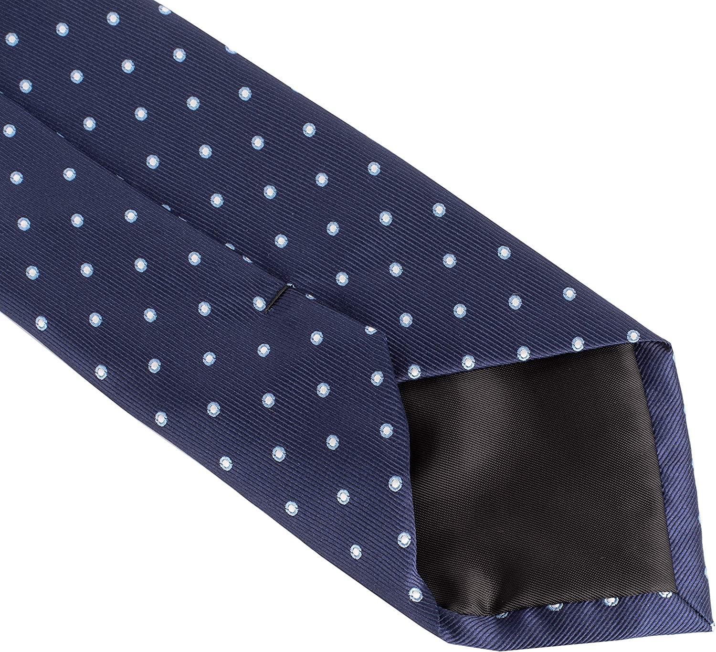 Essentials mens Classic Dots Necktie Necktie