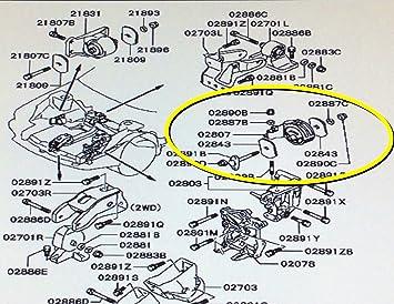 1 PCS Front Motor Mount For 1998-1999 Mitsubishi Eclipse 2.4L
