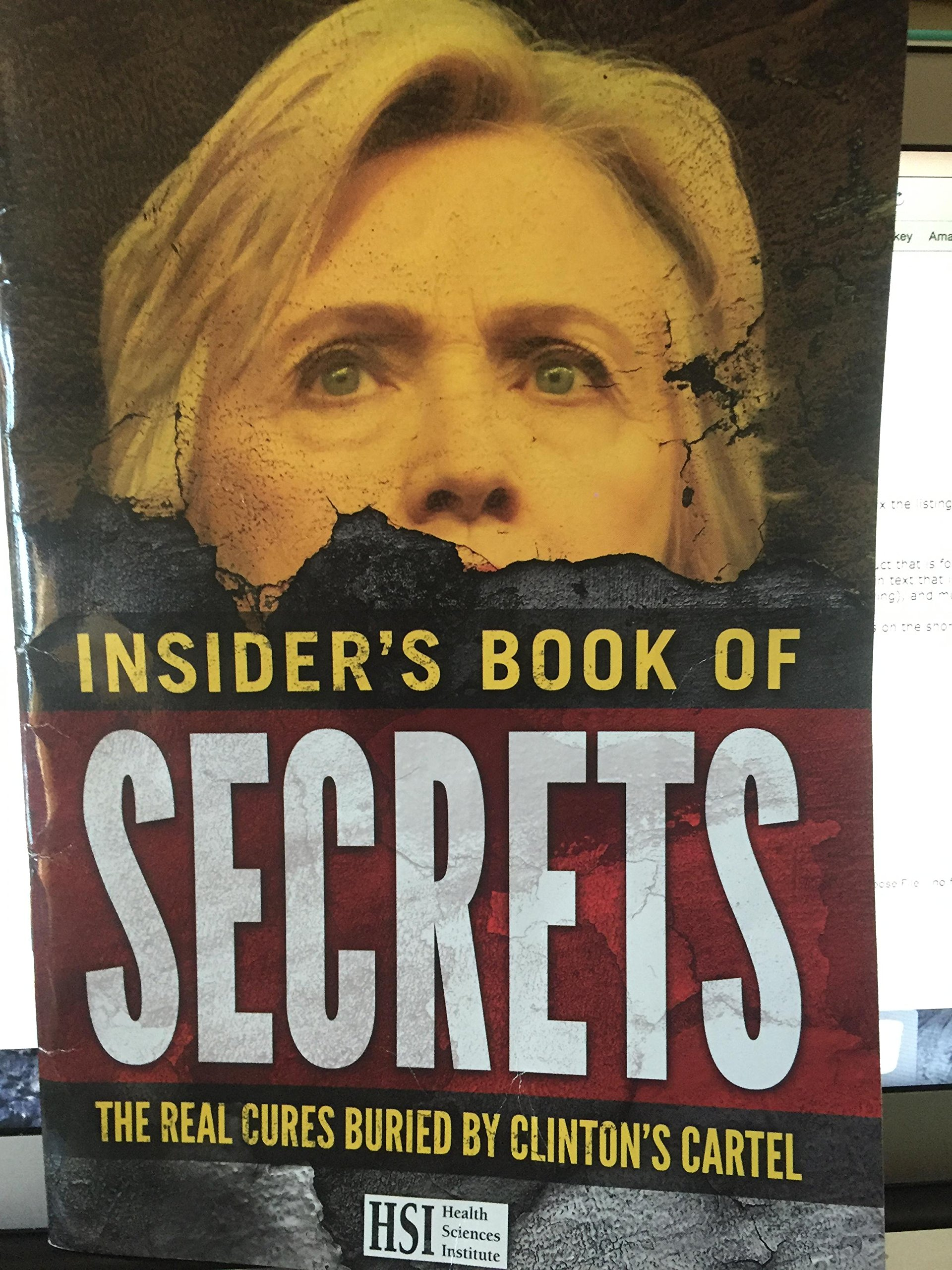 insiders book of secrets the real cures buried by clintons ...
