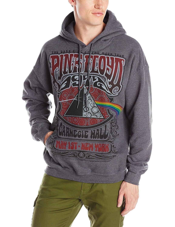 43aad40fa10 Amazon.com  Liquid Blue Men's Pink Floyd Carnegie Hall Hooded Sweatshirt   Clothing