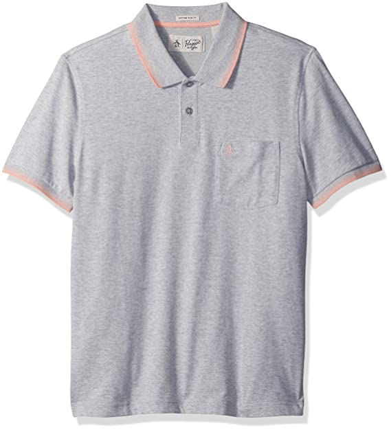 Amazon Com Original Penguin Men S Short Sleeve 56 Performance Polo