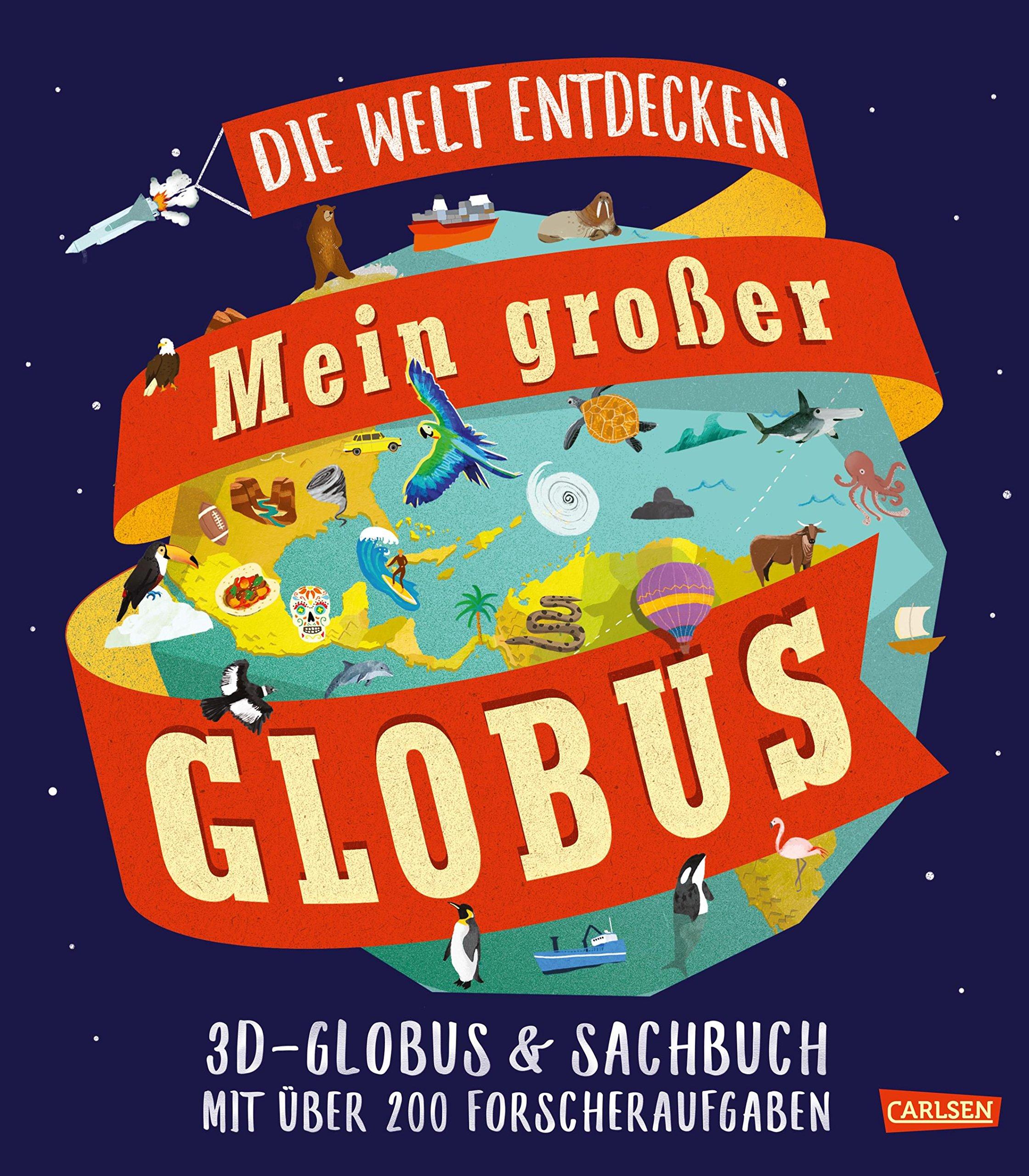 Mein großer Globus Gebundenes Buch – 28. September 2018 Leon Gray Sarah Edmonds Britta Meinass Mein großer Globus
