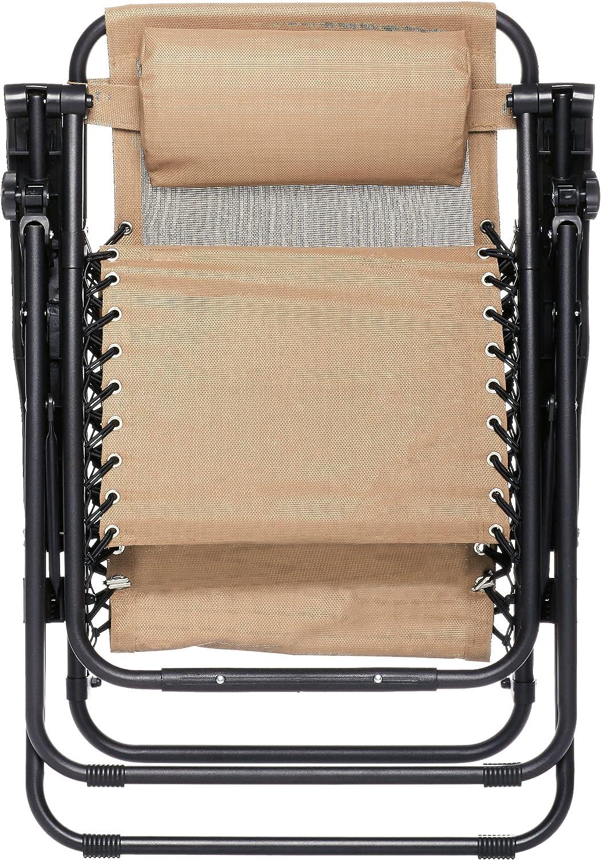 AmazonBasics Zero Gravity Chair folded