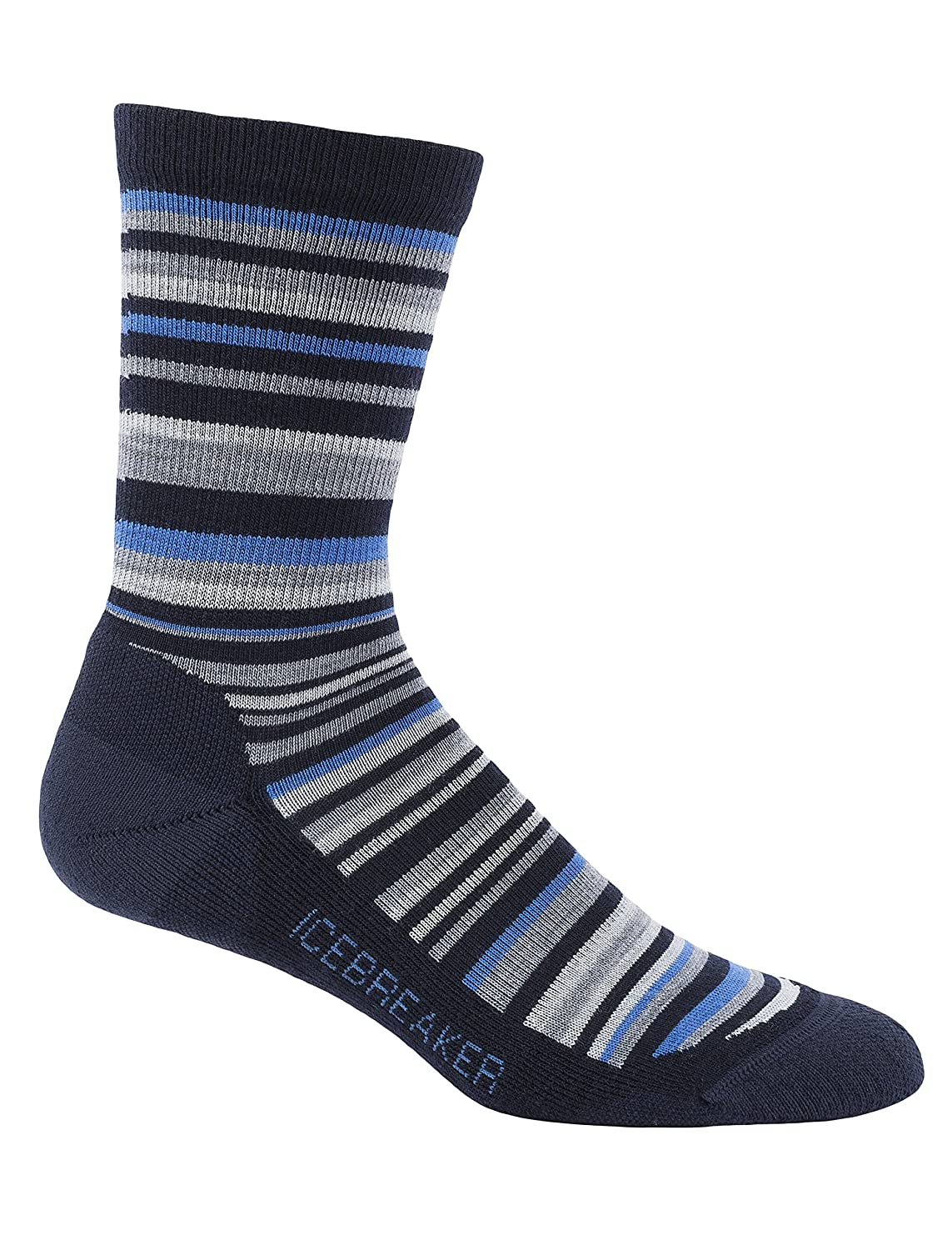 ac41b45d83 Icebreaker Men's Lifestyle Light Crew Socks, Admiral/Pelorus/Metro Hthr,  Small: Amazon.co.uk: Sports & Outdoors