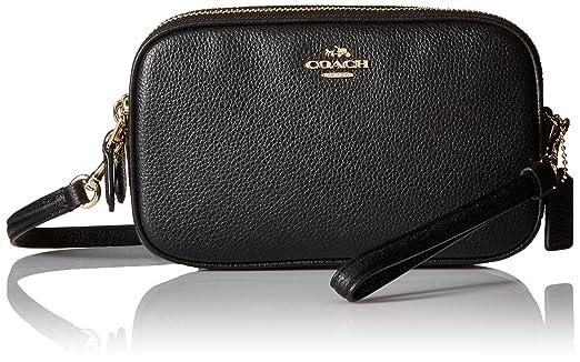 Coach Crossbody Clutch Bag BLACK ONE: Amazon.co.uk: Shoes & Bags