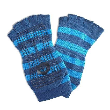 Calcetines con dedos para practicar Yoga - Talla 36-38 (azul)