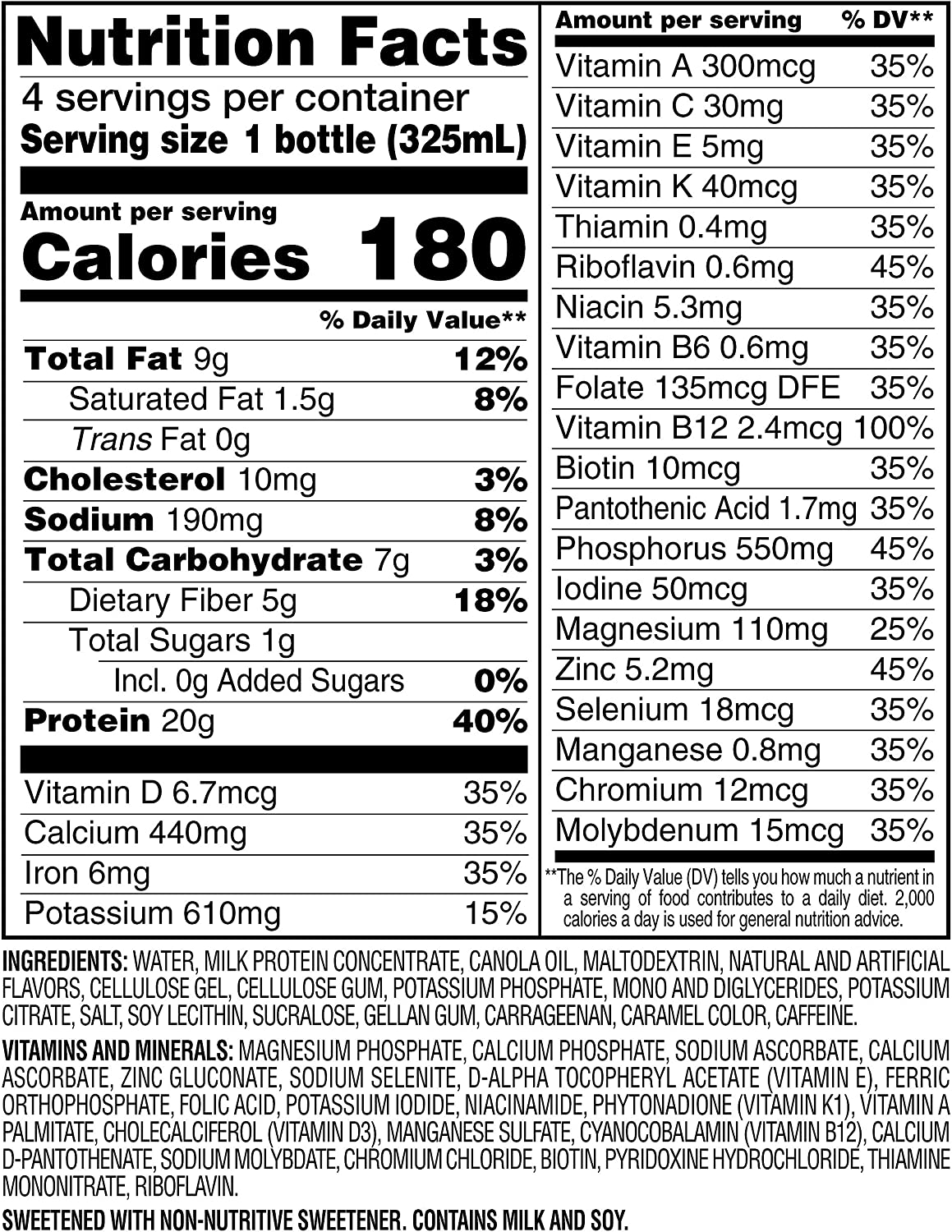 SlimFast Advanced Energy Caramel Latte Shake – Ready to Drink Meal Replacement – 20g of Protein, 11 fl oz Bottle – 12 Count