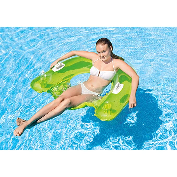 Intex 58859EU, Asiento de Piscina, Colores Aleatorios: Intex - Jeu ...