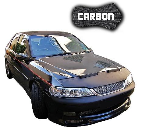 haubenbra Opel Vectra B Carbon Auto Máscara Bra para piedra Impacto Tuning Car Bra Top calidad