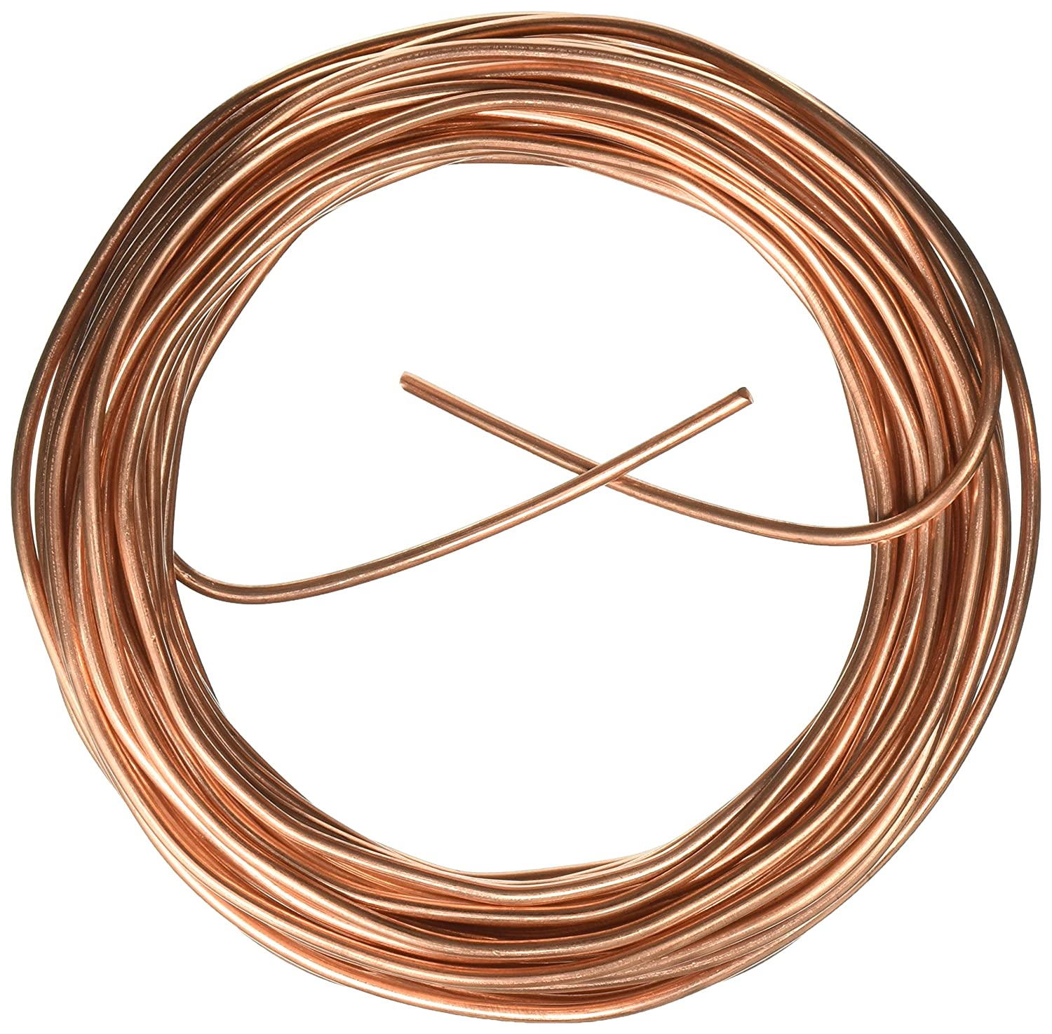 Cerrowire 050-2000A 25-Feet 8 Gauge Bare Solid Copper Wire ...