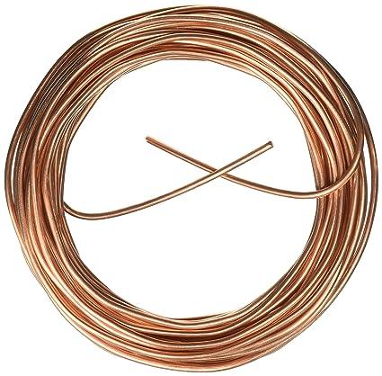 Cerrowire  Feet 8 Gauge Bare Solid Copper Wire Amazon Com