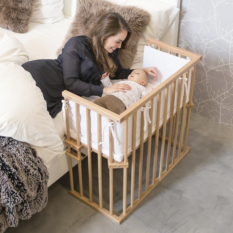 Babybay midi cama auxiliar marrón Beige barnizado: BABYBAY®: Amazon.es: Bebé