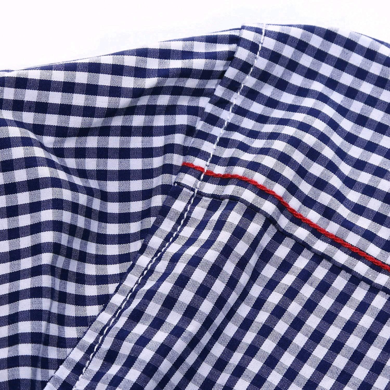 Abetteric Mens Business Skinny Turn Down Collar Plus Size Polo Shirt