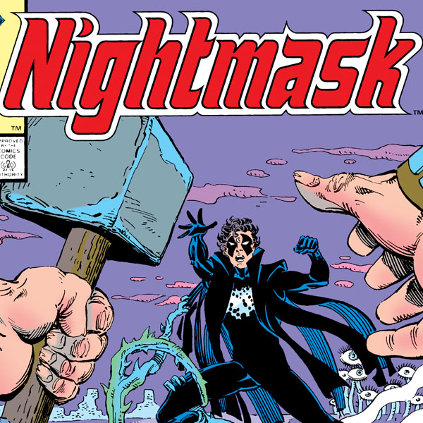 Nightmask (1986-1987) (Issues) (12 Book Series)