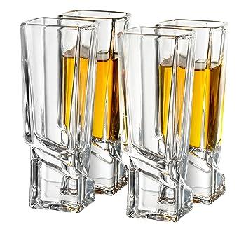 Joy Jolt Square Shot Glasses