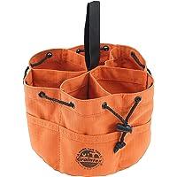 Graintex GB2889 Grab Bag cor ferrugem Rip-stop lona 18 bolsos fecho de cordão