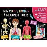 Mes premiers coffrets d'apprentissage - Mon corps humain à reconstituer (Nouvelle édition 2016)