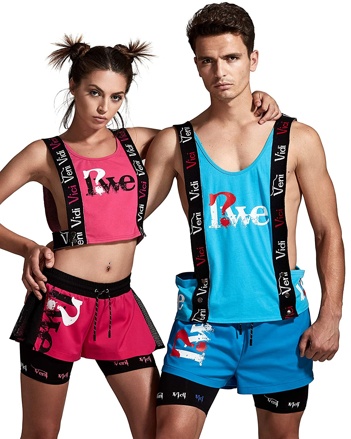 Vest|Workout Clothes|Gladiator Style|2 Colors RWE Mens Activewear|Gym Shorts