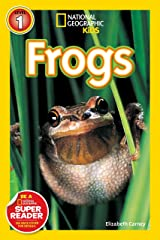 National Geographic Readers: Frogs! Paperback