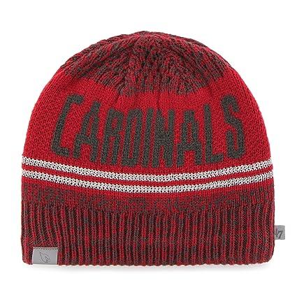 Amazon.com    47 NFL Arizona Cardinals React Knit Beanie a63960e0f307