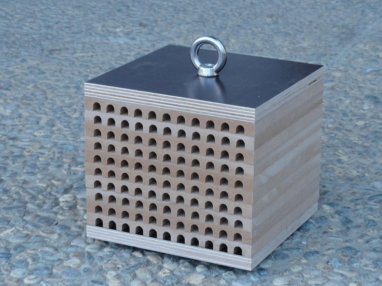 Wildbienenkinderstube - Nisthilfe für Wildbienen