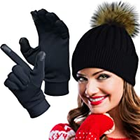 e5009f377e553e GearTOP Running Gloves Touch Screen Gloves for Men and Women