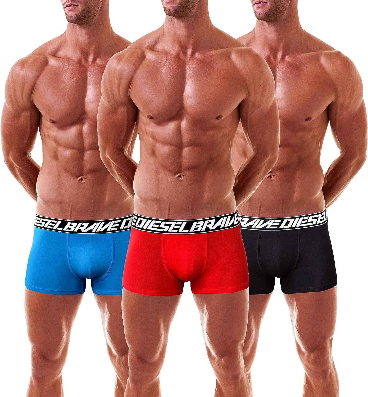 policromo Diesel Boxer Uomo Shawn 3 Pack