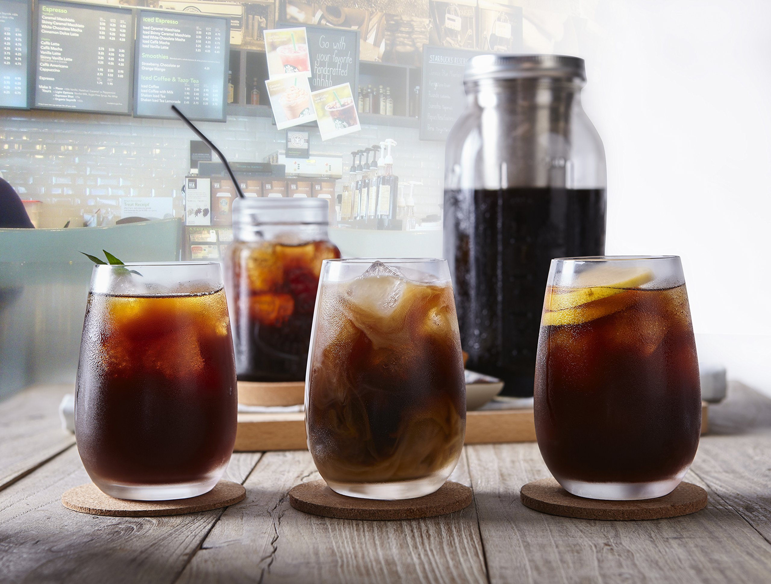 Ultra-Fine Mesh Cold Brew Coffee Filter to Use with 2-Quart Mason Jar by Geesta (Image #8)
