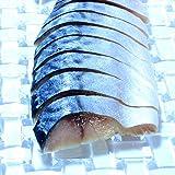 しめ鯖 刺身 〆鯖 冷凍 真さば スキンレスフィレー 半身4枚 お刺身 海鮮丼 訳あり サバ 鯖