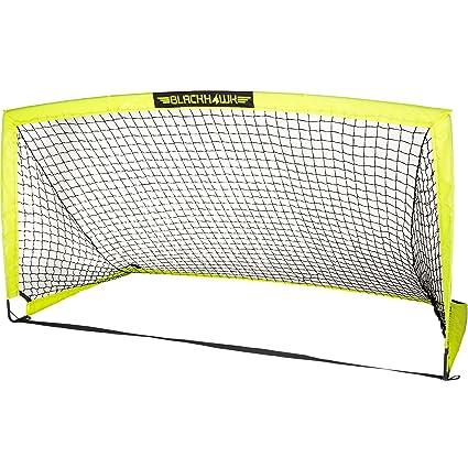 amazon com franklin sports blackhawk portable soccer goal optic