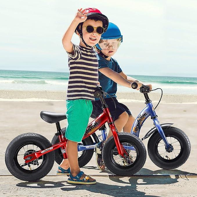 Bikestar | Bicicleta sin pedales para niños de 10 pulgadas | Color Verde | A partir de 2-3 años | 10