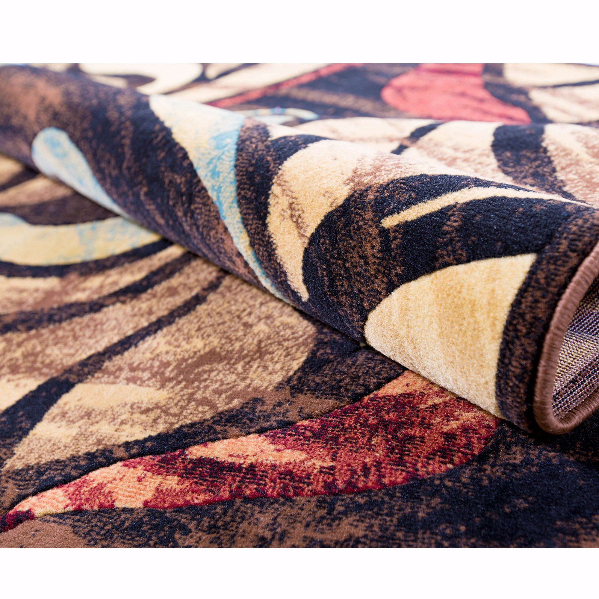 Home Dynamix Catalina - Quality Drop-Stitch Contemporary Modern Area Rug 7'10 x 10'5, Multi-Colored