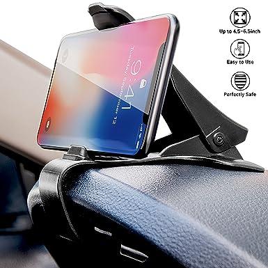 Soporte de coche salpicadero teléfono celular HUD labelbro Universal soporte ajustable teléfono para salpicadero de coche