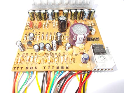 Soumik Electricals 4440 IC 12 Volt Amplifier Board Kit