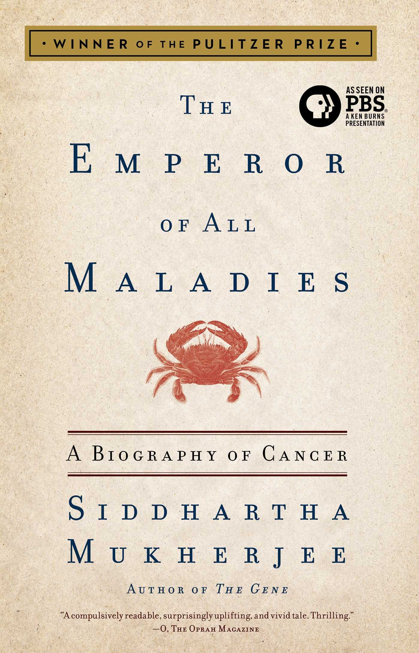 The Emperor Of All Maladies: A Biography Of Cancer: Siddhartha Mukherjee:  8601420075672: Amazon: Books