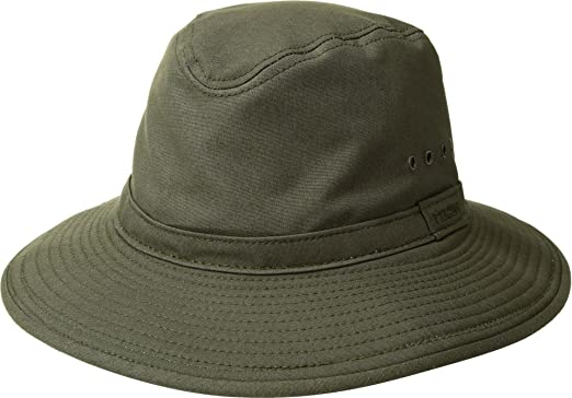 Amazon.com  Filson Unisex Summer Packer Hat Otter Green MD  Clothing 593444b699d